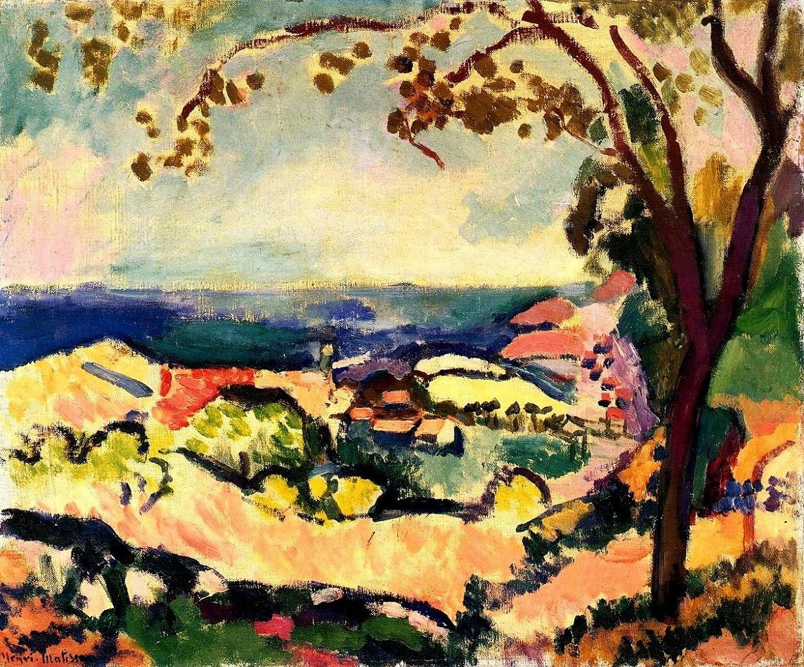 an analysis of the origin of fauvism in collioure a commune in france