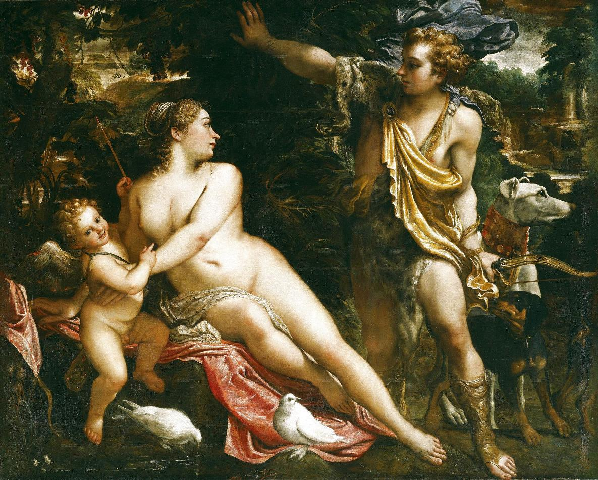 an analysis of digressions in venus and adonis and hero and leander