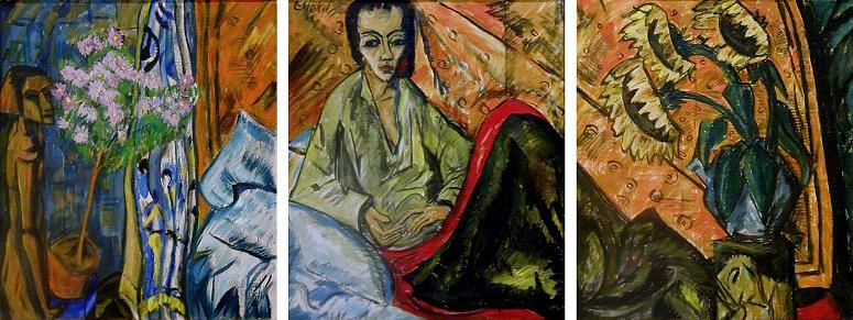 arthistoryreference   erich heckel   convalescence of a woman