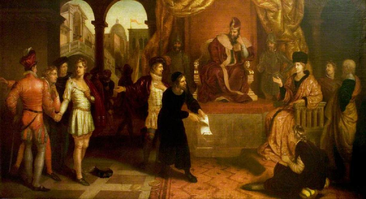 the role of mercy and justice in the merchant of venice a play by william shakespeare